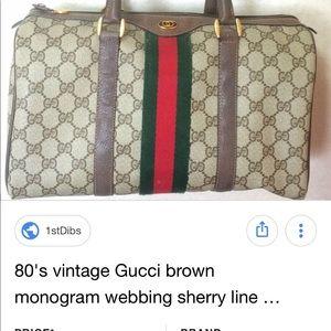 6781dda165f6 Gucci Bags | 80s Vintage Handbag | Poshmark